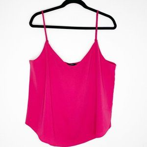 J.Crew V Neck Blouse Camisole Tank Top Pink 16